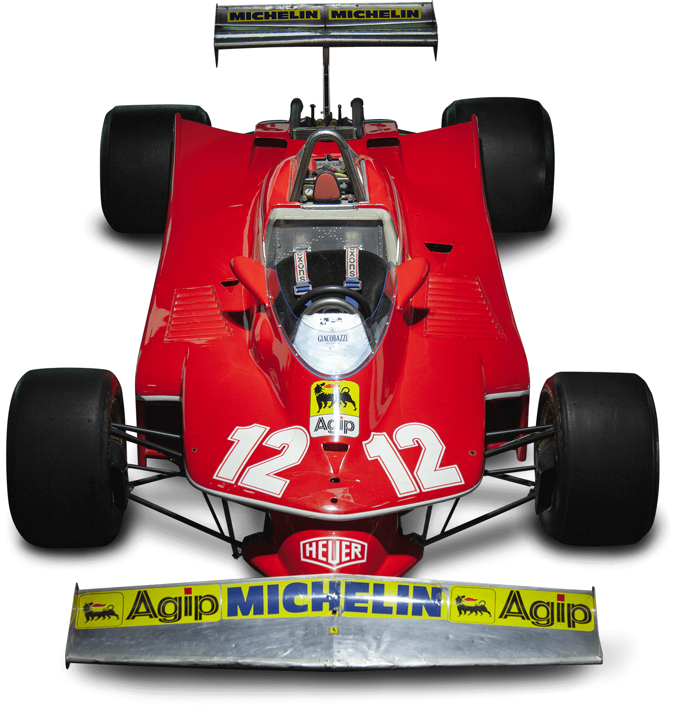 Scuderia Ferrari Memorabilia. Car exhibition room — 312T4