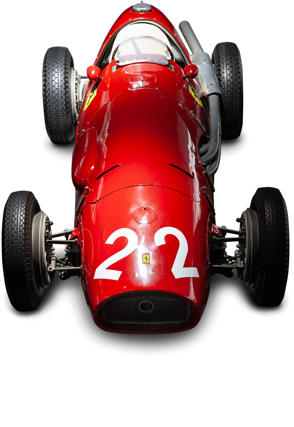 Scuderia Ferrari Memorabilia. Car exhibition room — F500